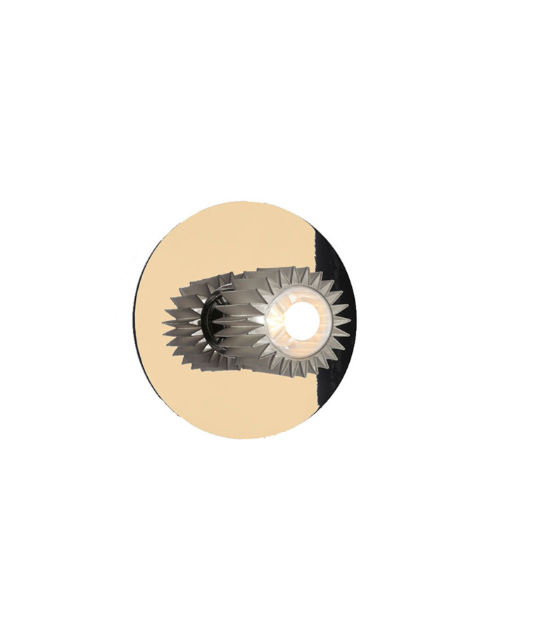 In The Sun Vegglampe 270 Gull/Sølv - DCW