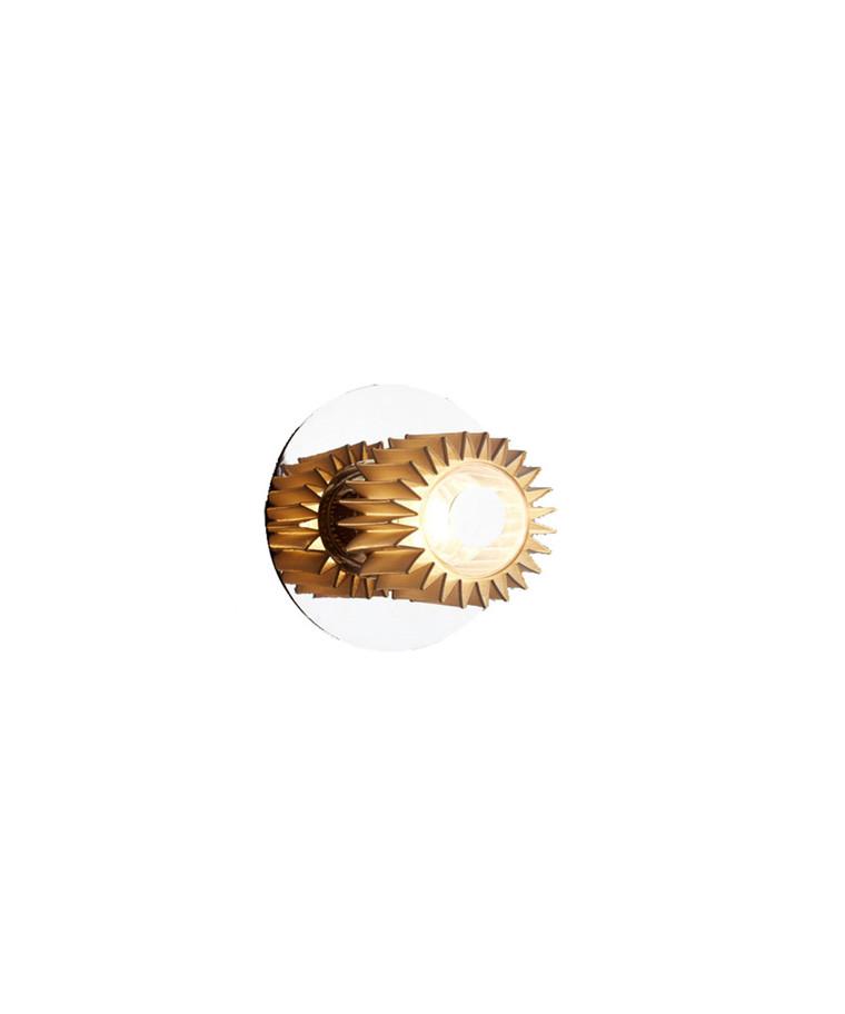 In The Sun Vegglampe 190 Sølv/Gull - DCW