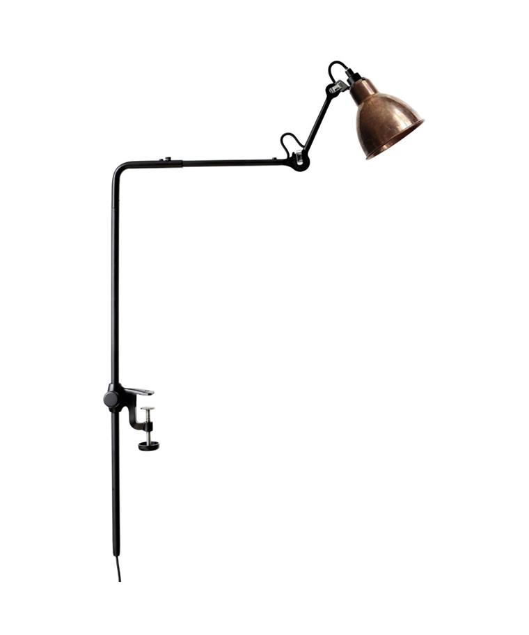 226 Bordslampa Svart/Raw Koppar/Vit - Lampe Gras