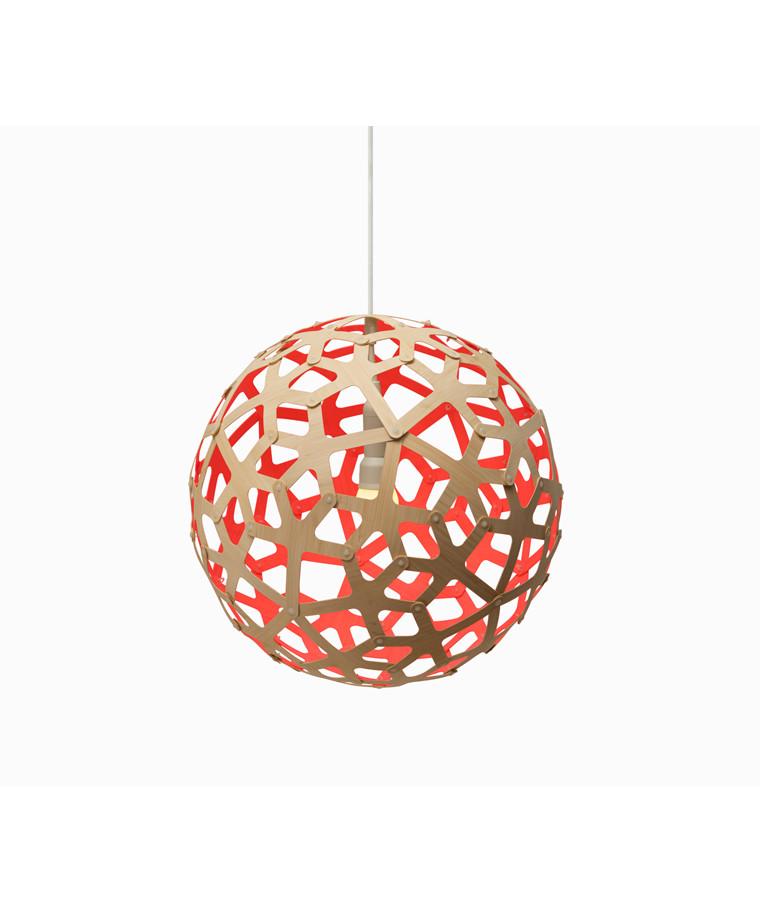 Coral Taklampe Pink - David Trubridge