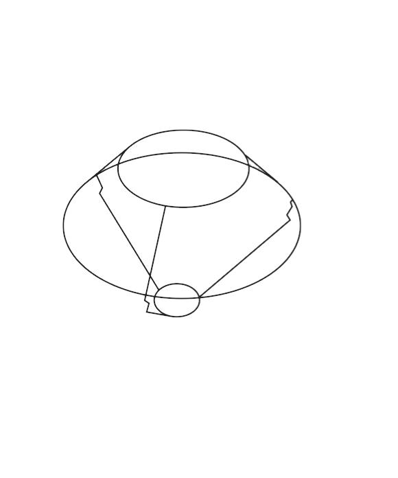 Le Klint 406 A Bordlampe Stativ til Skærm 1, 2 eller 6 - Le Klint