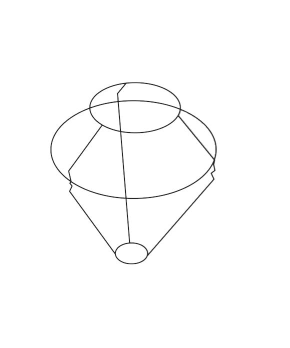 Le Klint 406 C Gulvlampe Stativ til Skærm 1, 2 eller 6 - Le Klint