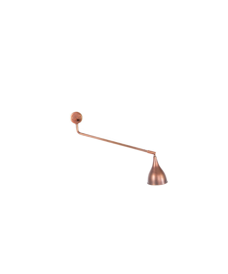 Le Six Vegglampe Single Arm Bronse - 101 Copenhagen