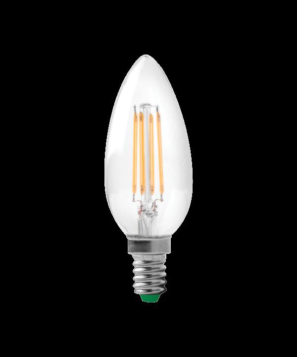 Pære LED 4W (320lm) Candle Dæmpbar E14 - Segula