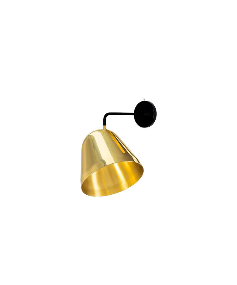 Tilt Væglampe Messing - Nyta