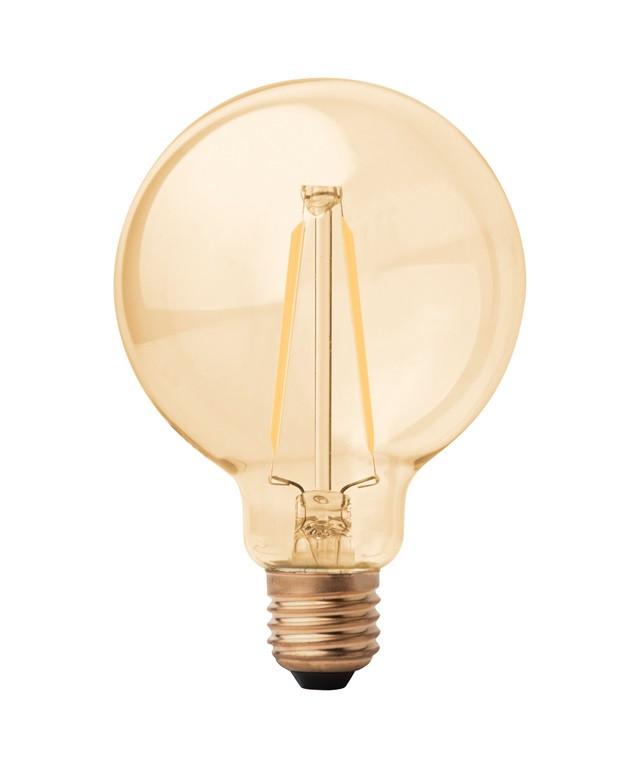 Pære LED 3W Globe Ø95 E27 - Megaman