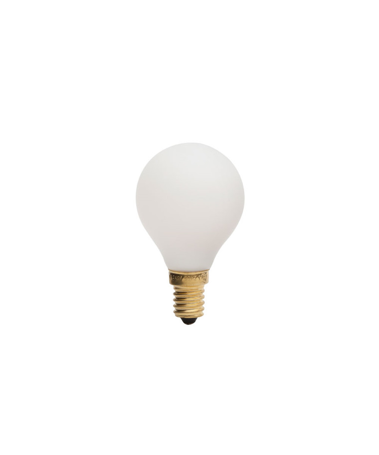 Päronlampa LED 3W Porcelain I E14 - Tala