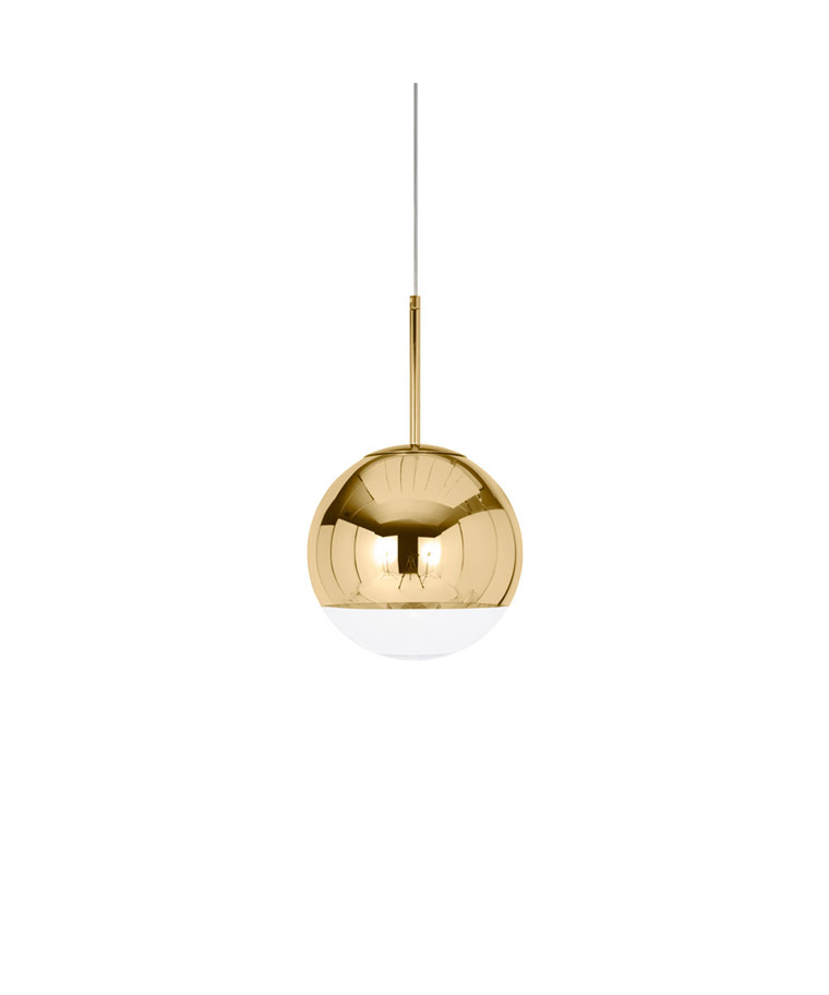 Mirror Ball Globe 25 Pendel Guld - Tom Dixon
