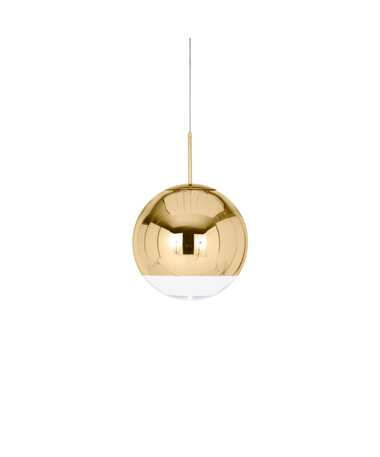Mirror Ball Globe 40 Pendel Guld - Tom Dixon