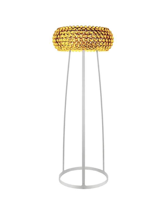 Caboche Stehleuchte Gelb Gold - Foscarini