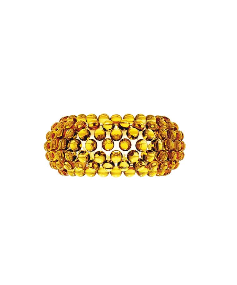 Caboche Wandleuchte Gelb Gold - Foscarini