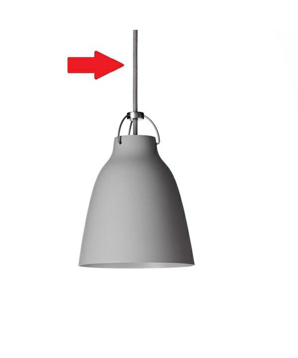 Ledning til Caravaggio 6m Grå45 - Lightyears
