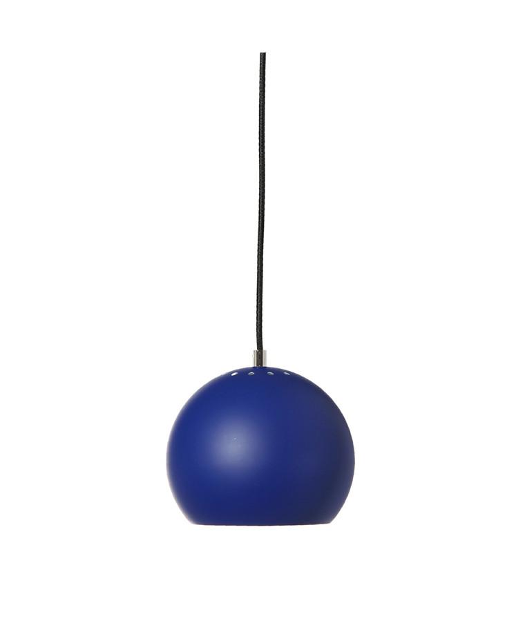 Ball Pendelleuchte Mat Kobaltblau - Frandsen