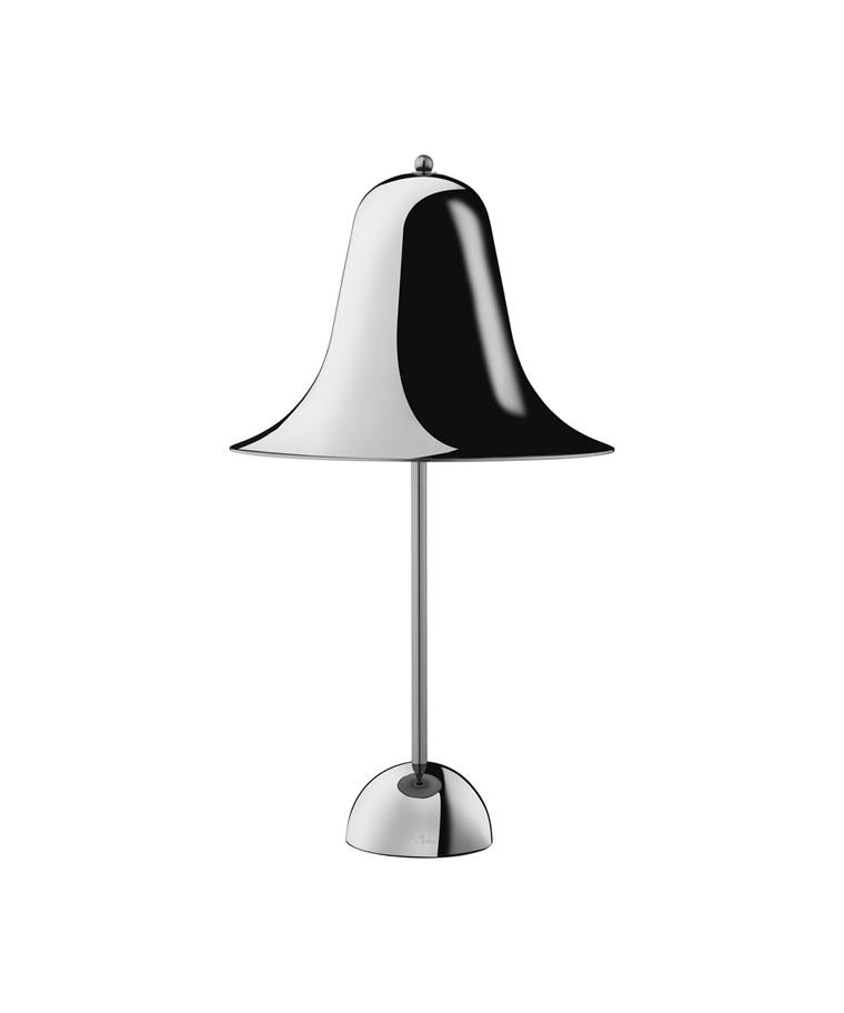 Pantop Bordslampa Svart Krom - Verpan