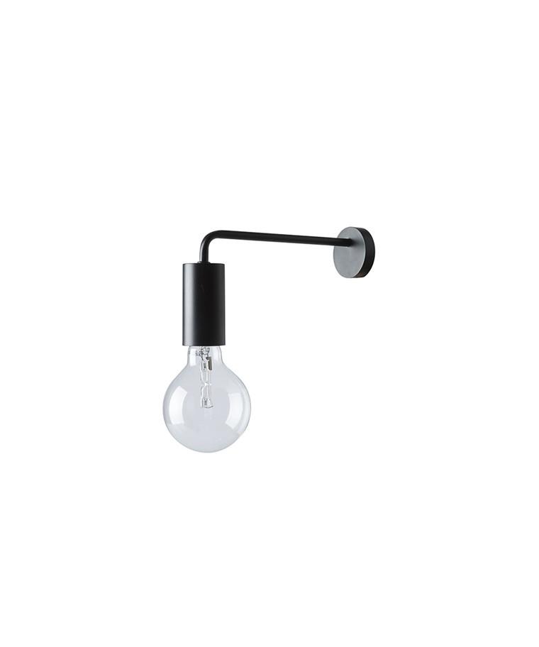 Cool Væglampe Mat Sort - Frandsen