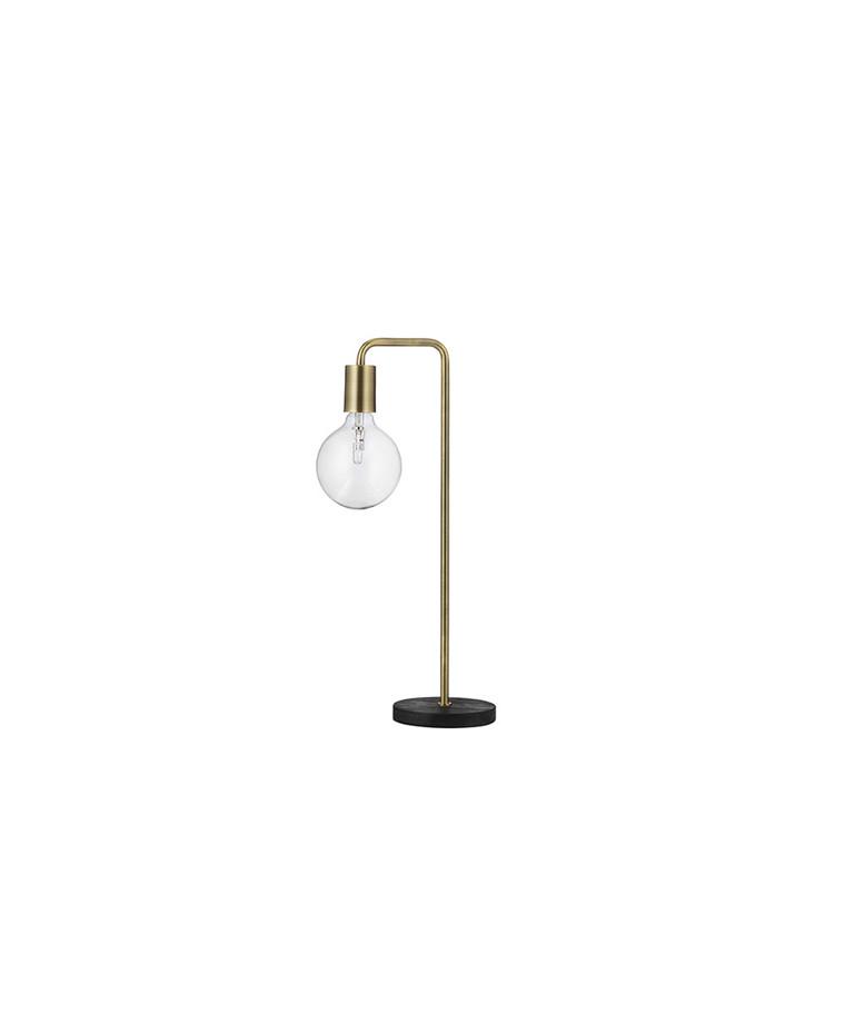 Cool Bordlampe Antik Mat Messing - Frandsen