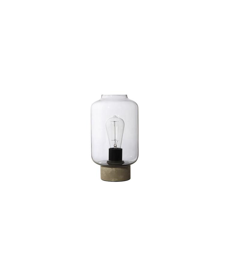 Column Bordlampe Beton/Smoke - Frandsen