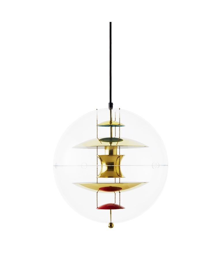 VP Globe Taklampa 40 Brass - Verpan