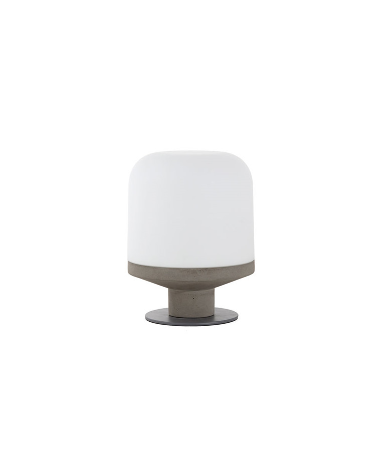 Bombast Bordlampe Opal Hvid - Frandsen