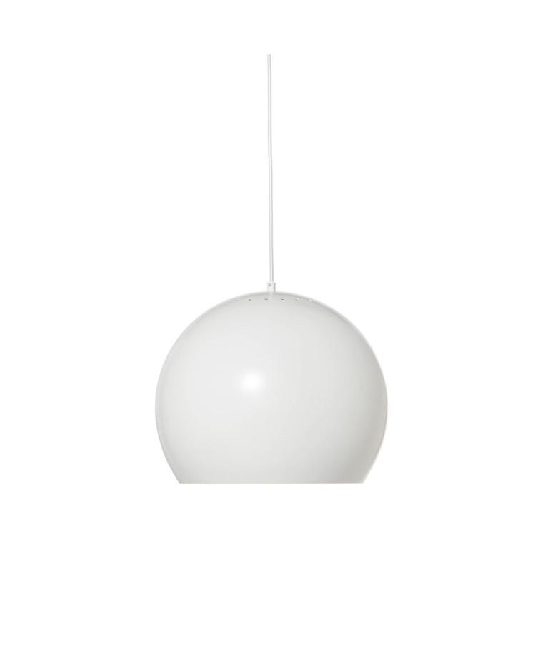 Ball Pendel Ø40 Mat Hvid - Frandsen