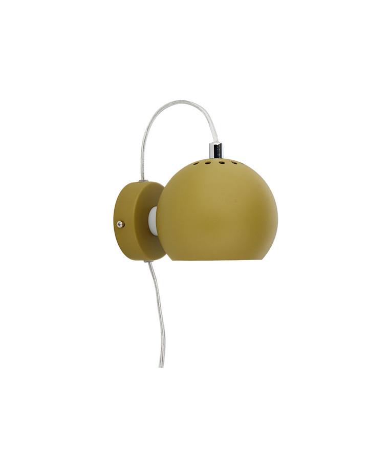 Ball Væglampe Oliven - Frandsen