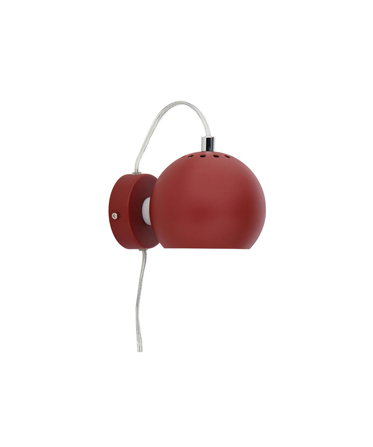 Ball Væglampe Rust - Frandsen