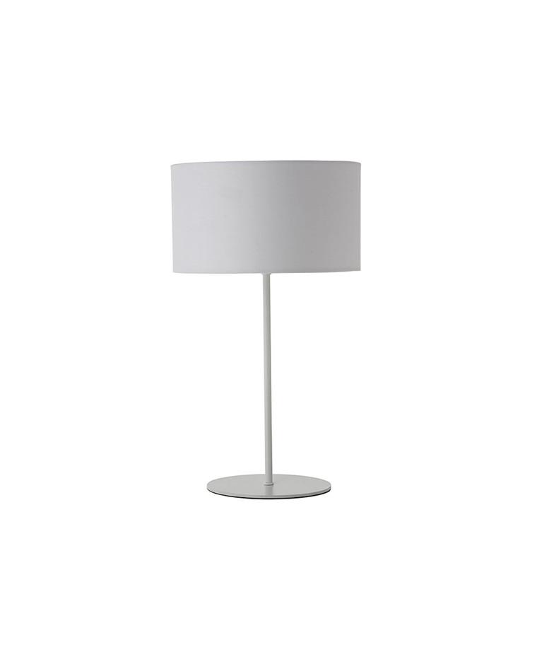 Cylinder Bordlampe Hvid - Frandsen
