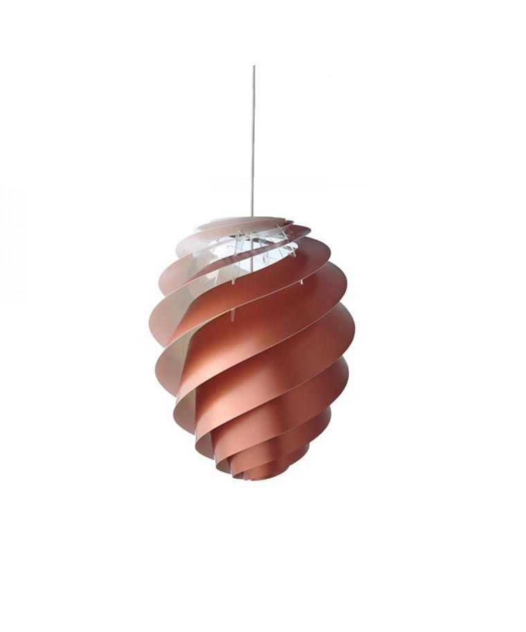 Swirl 2 Pendel Small Kobber - Le Klint