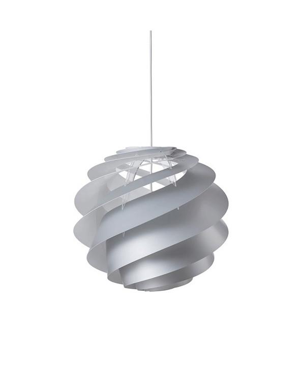 Swirl 3 Pendel Medium Sølv - Le Klint