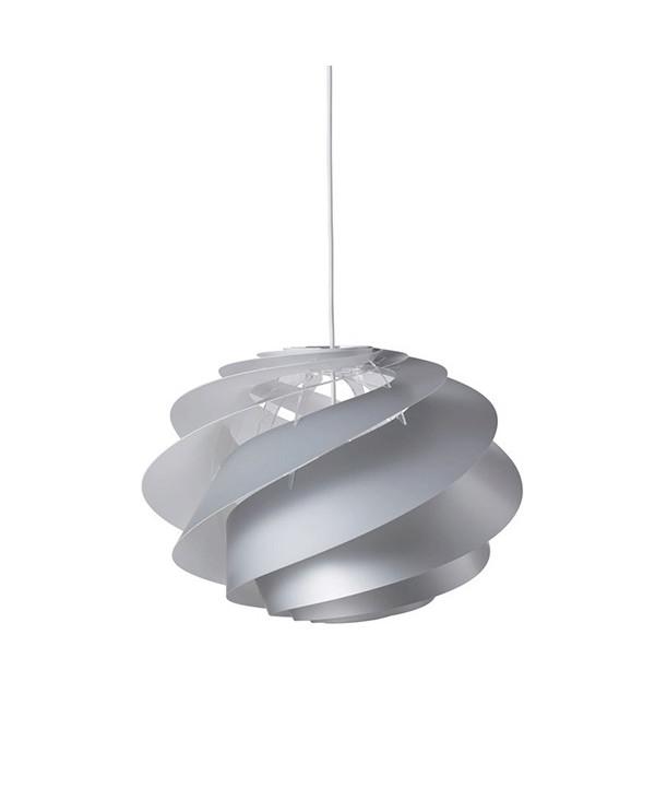 Swirl 1 Pendel Sølv - Le Klint