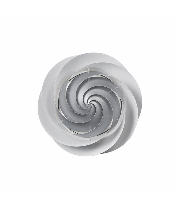 Swirl Væglampe/Loftlampe Small Sølv - Le Klint