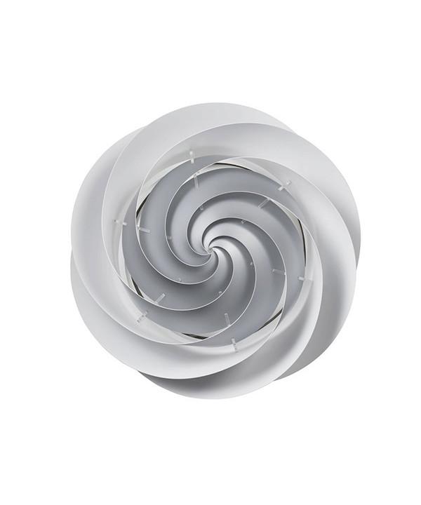 Swirl væglampe/loftlampe large sølv