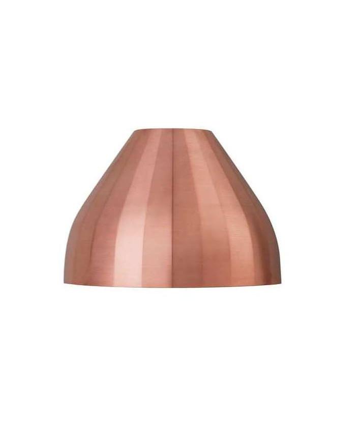 Facet Udendørs Væglampe Kobber - Le Klint