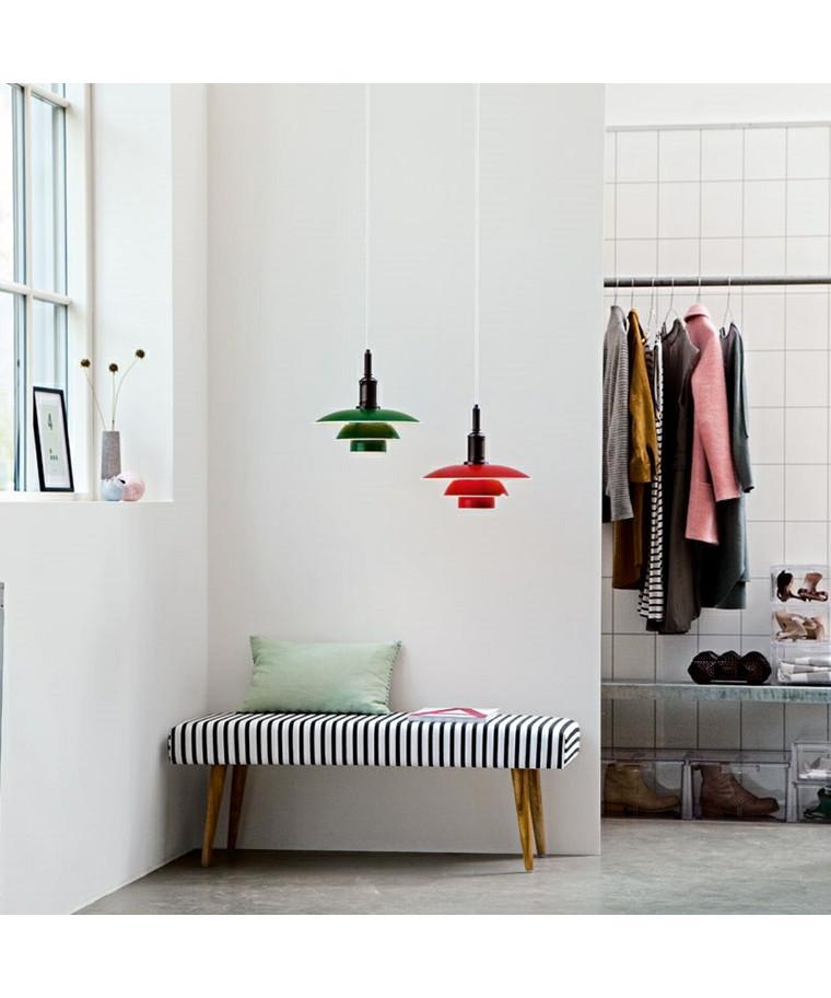 ph 3 3 pendelleuchte gr n louis poulsen. Black Bedroom Furniture Sets. Home Design Ideas