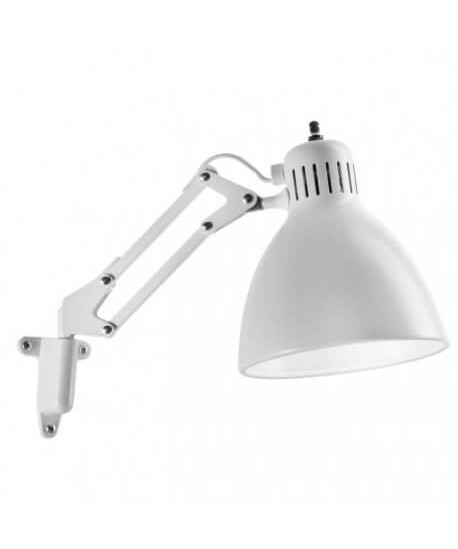 JJ Junior Vegglampe Matt Hvit - LIGHT-POINT