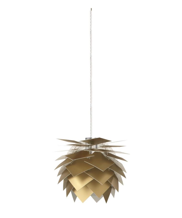 PineApple XS Pendelleuchte 12V Gold Look - DybergLarsen