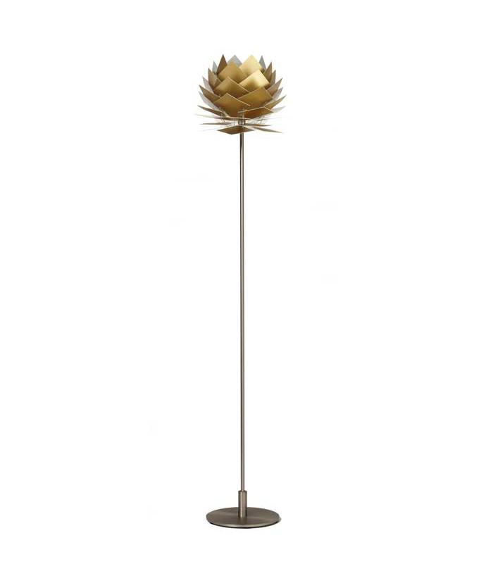 PineApple XS Golvlampa Guld Look - DybergLarsen