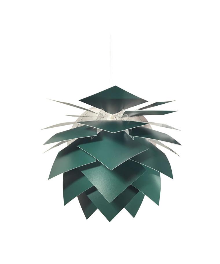 PineApple Medium Pendel Mørk Grønn - DybergLarsen