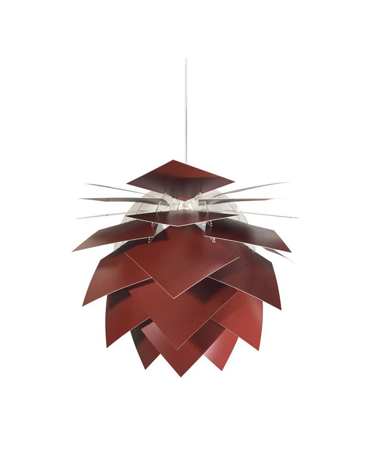 PineApple Medium Pendel Mørk Rød - DybergLarsen