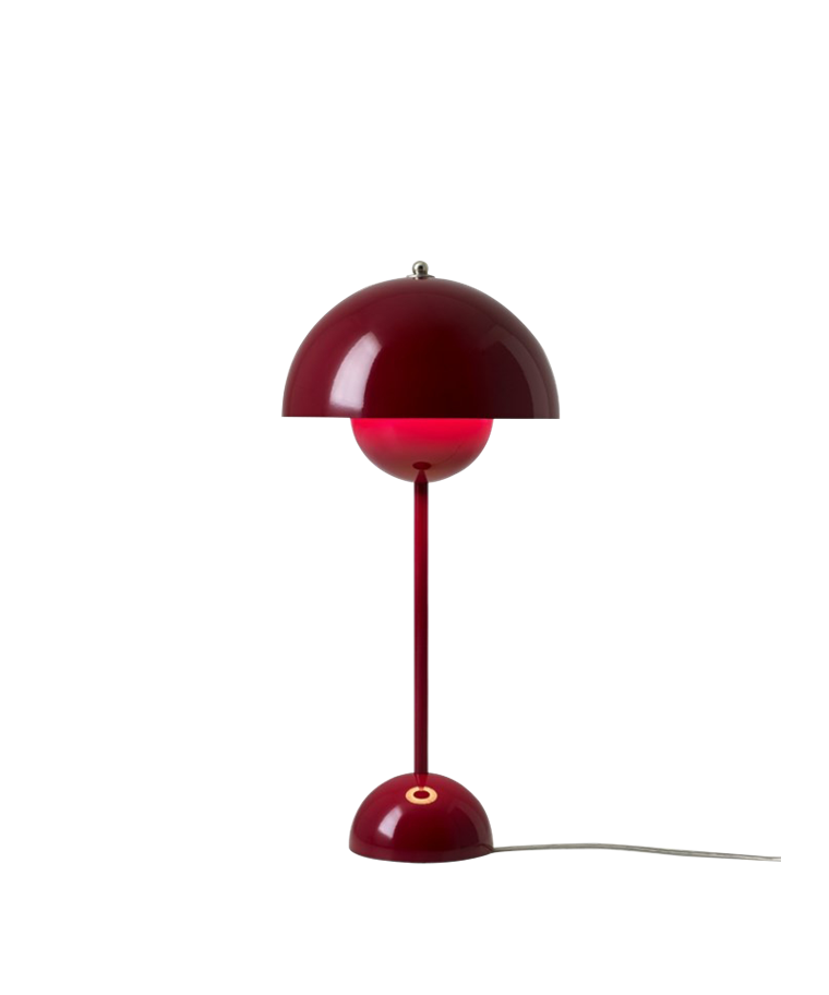 Flowerpot VP3 Bordlampe Deep Red - &tradition