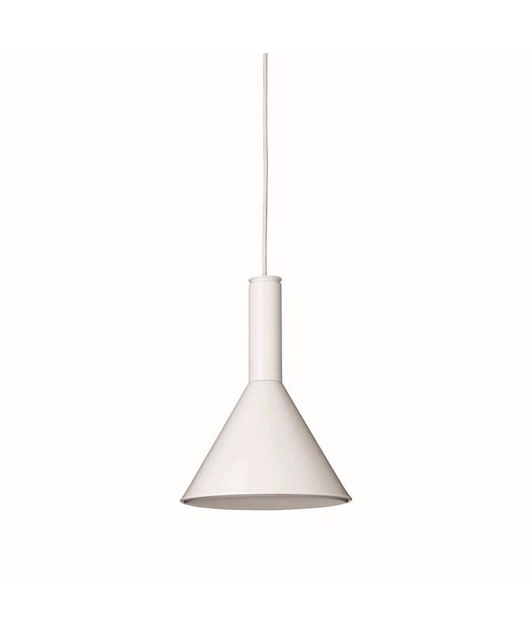 Megaphone Pendelleuchte Weiß - Watt A Lamp
