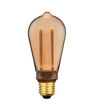 Päronlampa LED 5W (200/100/40 lm) 3 step Dimm E27 - Halo Design