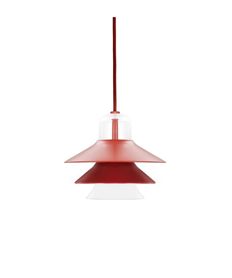 Ikono Pendel Small Rød - Normann