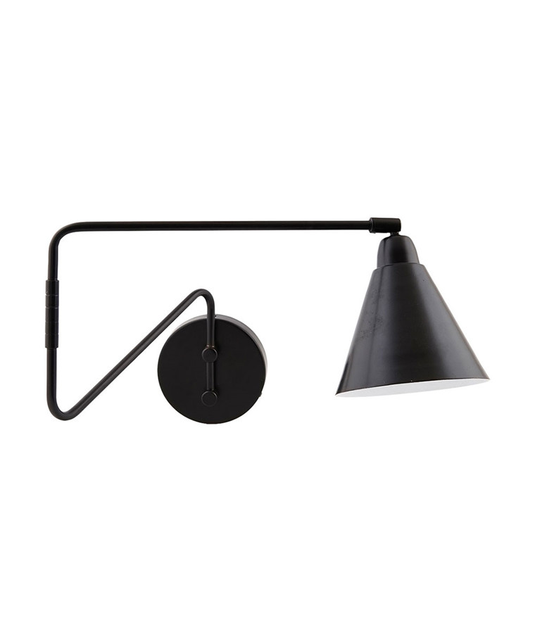 Game Vegglampe 70cm Sort - House Doctor