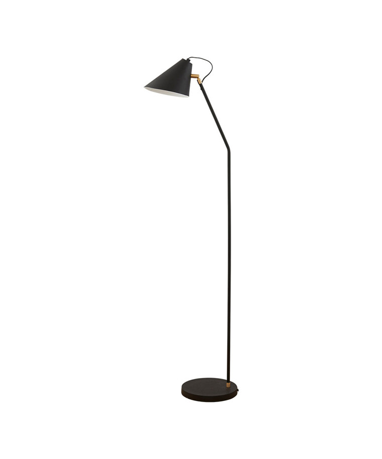 Club Gulvlampe H130cm Sort - House Doctor