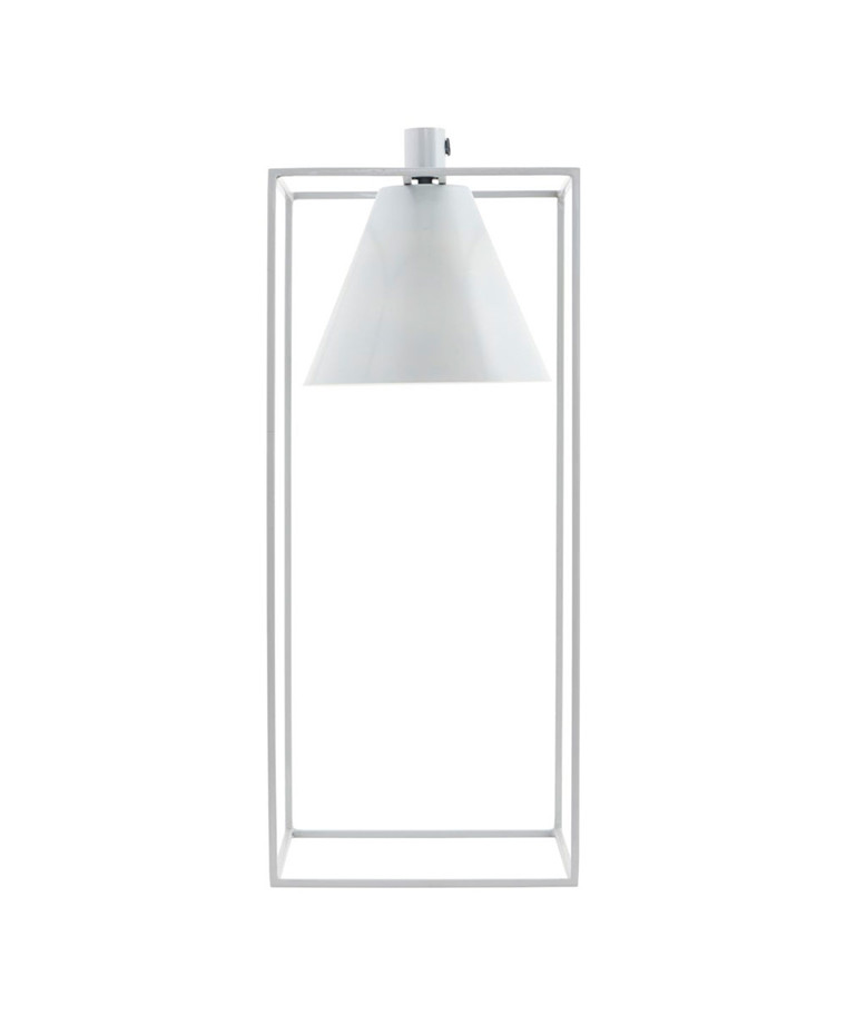 Kubix Bordslampa Vit - House Doctor