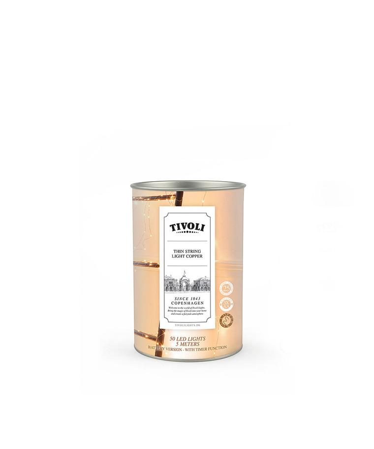 String Light Copper 50  - TIVOLI LIGHTS