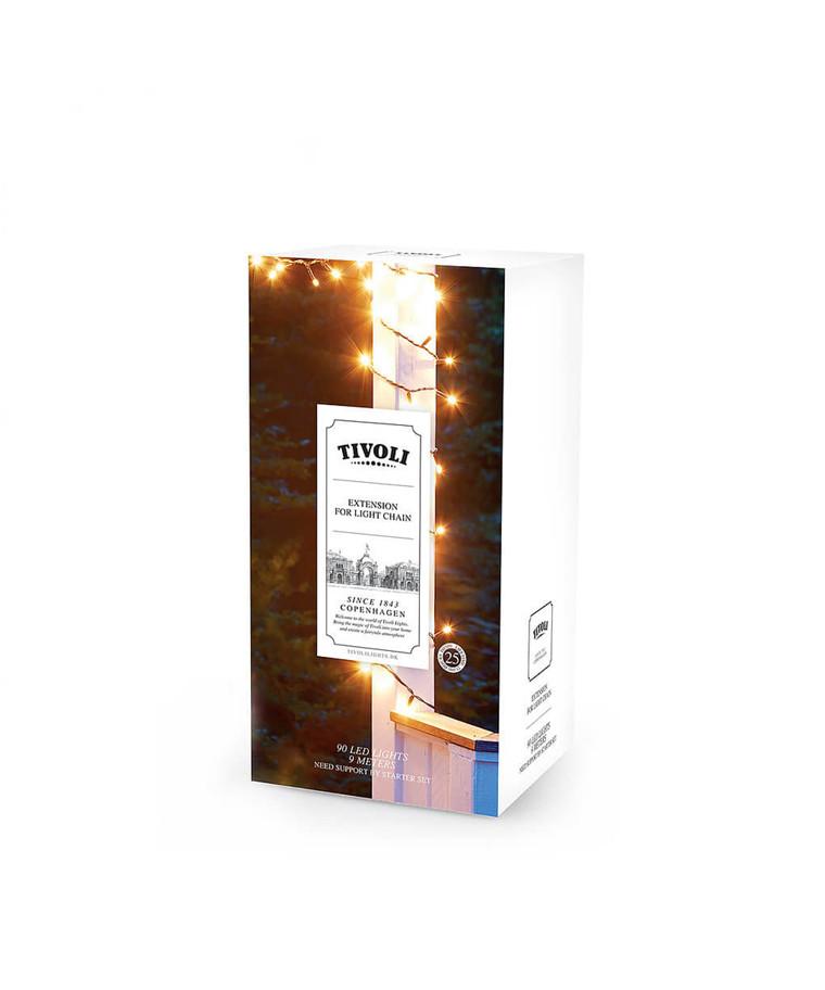 LED Extension Light Chain 90 - TIVOLI LIGHTS