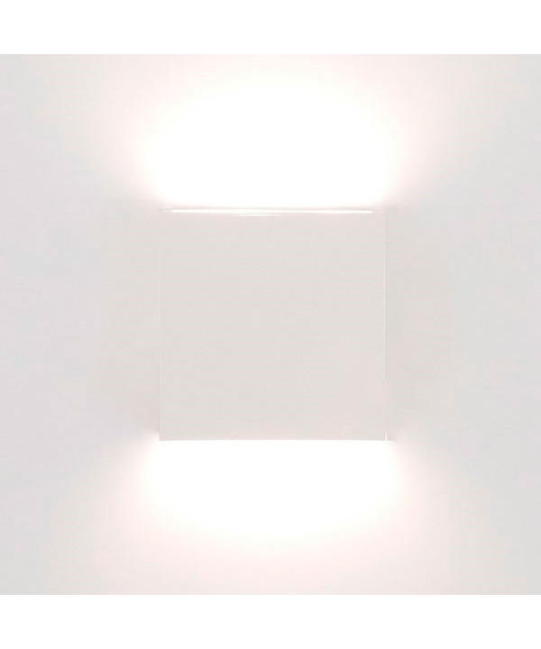 Image of   Juelsminde Udendørs Væglampe Hvid - David Superlight
