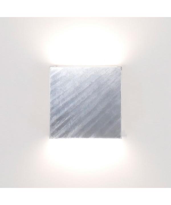 Image of   Juelsminde Udendørs Væglampe Galvaniseret - David Superlight